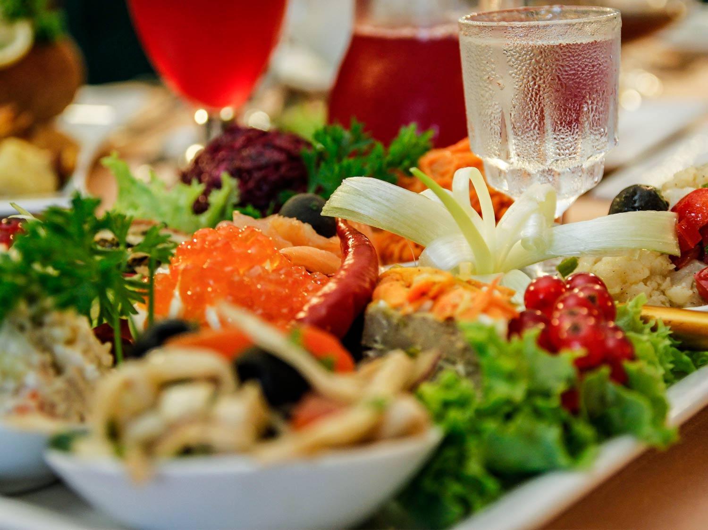 samowar-restaurant-vorspeisenauswahl